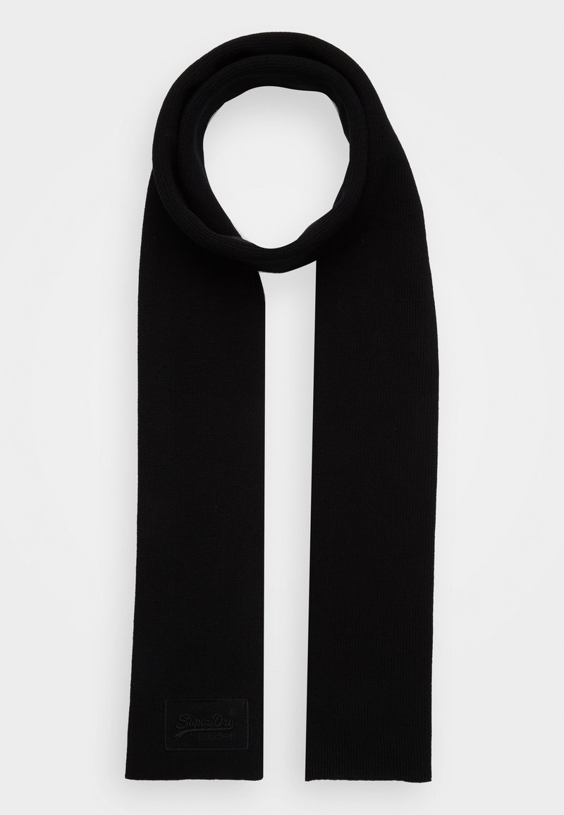 Superdry - LABEL - Scarf - black