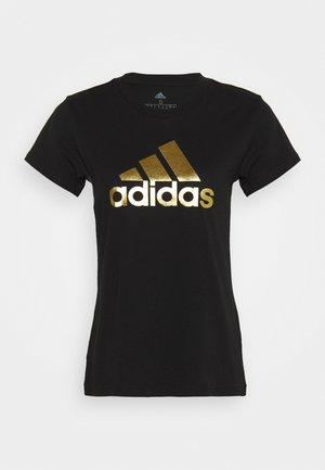 UNIVVOL TEE - T-shirts med print - black