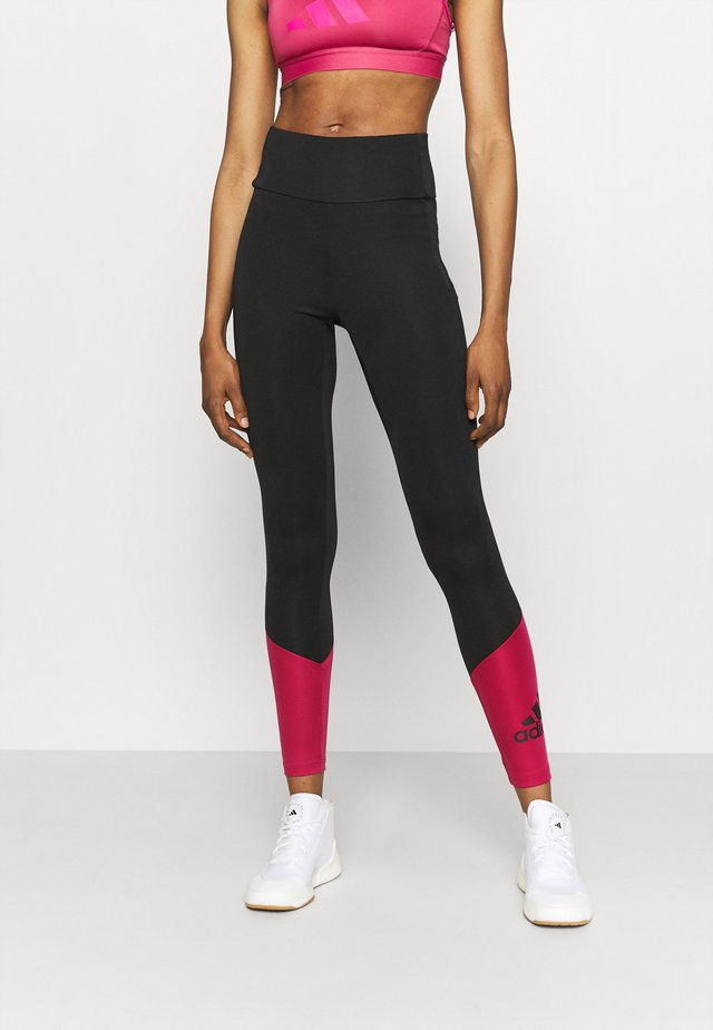Leggings - black/wilpink