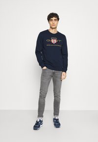 GANT - ARCHIVE SHIELD  - Sweatshirt - evening blue