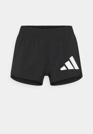 Pantaloncini sportivi - black/white