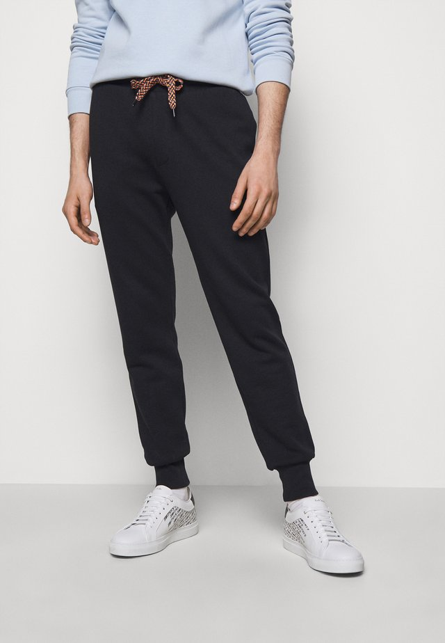 GENTS LOGO EMBROIDERED - Pantalon de survêtement - black