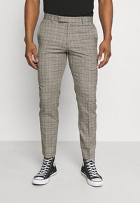 Limehaus - HERITAGE TROUSER - Suit trousers - brown - 0