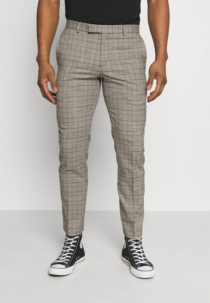 Limehaus - HERITAGE TROUSER - Suit trousers - brown