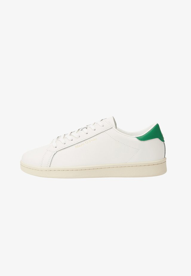 VINCENZO - Sneakers laag - white/green