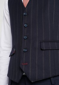 1904 - SCOTT  - Suit waistcoat - navy - 4