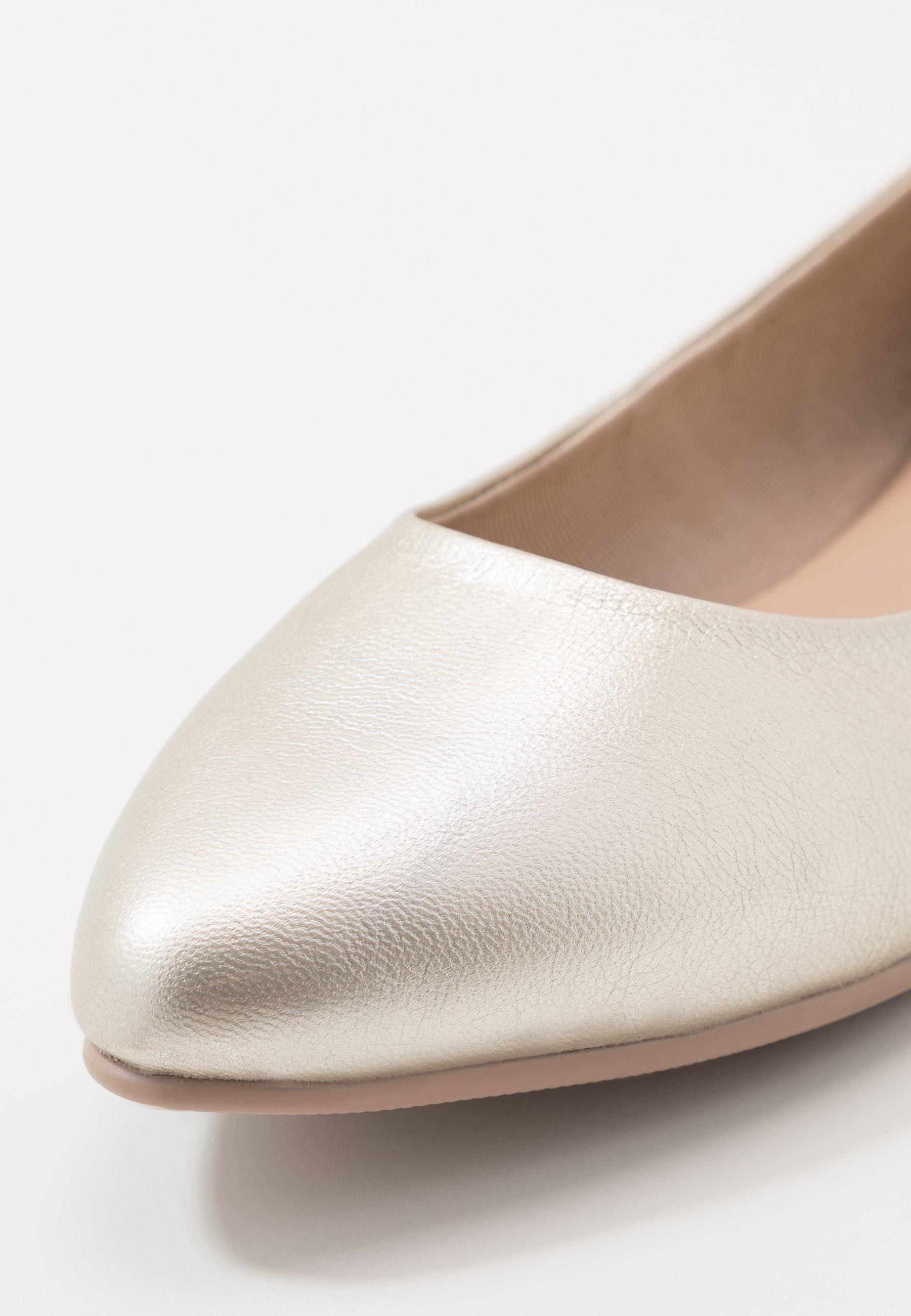 Anna Field Leather Ballerinas - Klassischer Ballerina Gold/gold