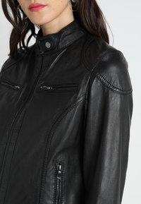 Oakwood - LINA - Leather jacket - black - 5