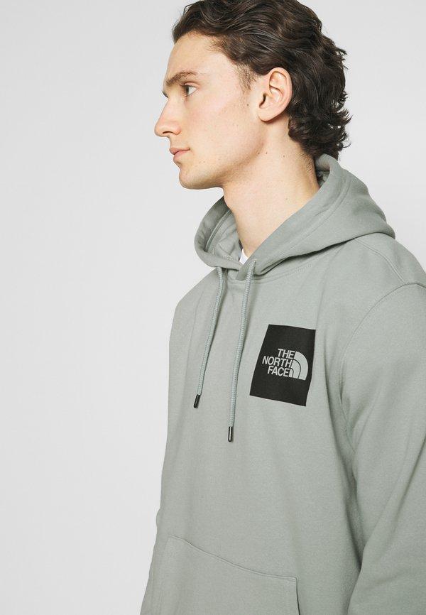 The North Face FINE HOODIE - Bluza z kapturem - wrought iron/szary Odzież Męska HADI