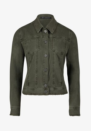 Denim jacket - dusty olive