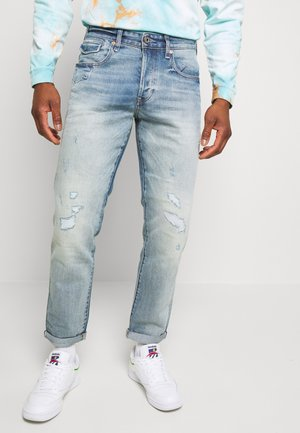 MORRY 3D RELAXED TAPERED - Džíny Relaxed Fit - japanese stretch selvedge dnm - vintage stream restored