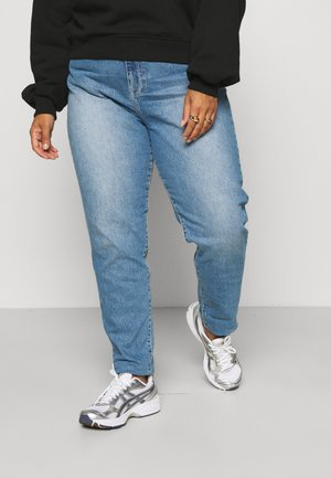 NORA - Jeans slim fit - mid stone stretch