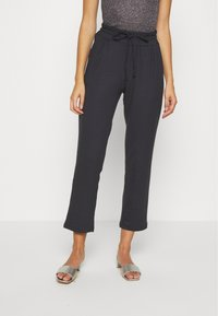 Lounge Nine - SELMA PANTS - Trousers - pitch black - 0