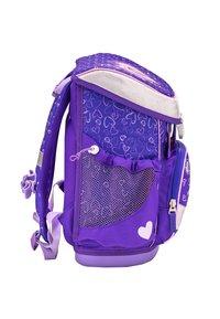 Belmil - SET - School bag - dark purple - 4