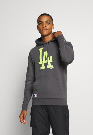 MLB LOS ANGELES DODGERS SEASONAL TEAM LOGO HOODY - Sweatshirt - dark grey