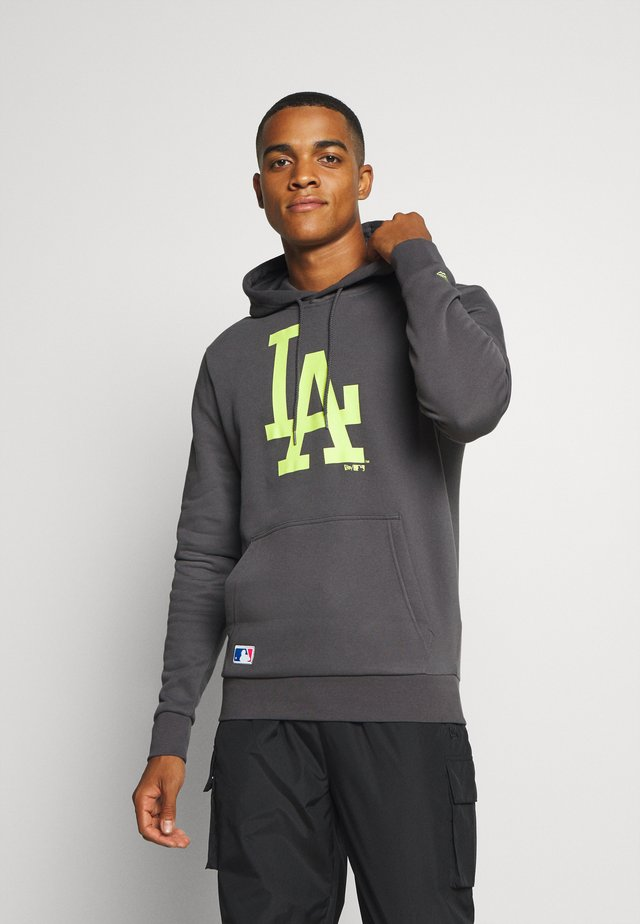 MLB LOS ANGELES DODGERS SEASONAL TEAM LOGO HOODY - Sweater - dark grey