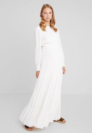 BRIDAL MATERNITY DRESS MAXI - Vestito lungo - snow white