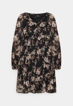 VMFRIDA V NECK DRESS - Day dress - black