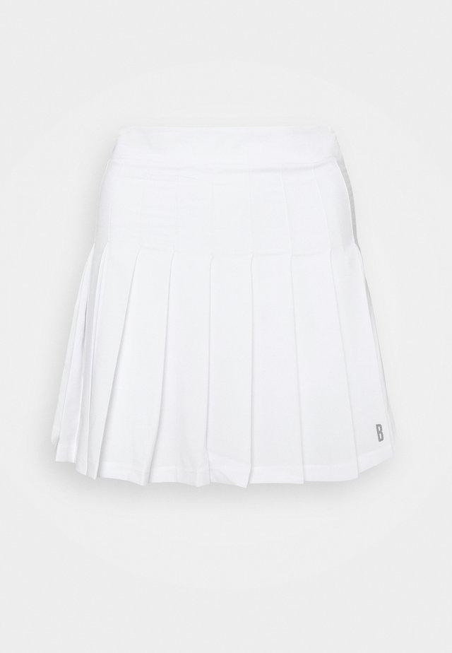 TRIX PLEATED SKIRT - Jupe de sport - brilliant white