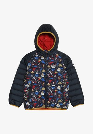 ZENON PRINT JACKET KIDS - Outdoorová bunda - dark lacquer red