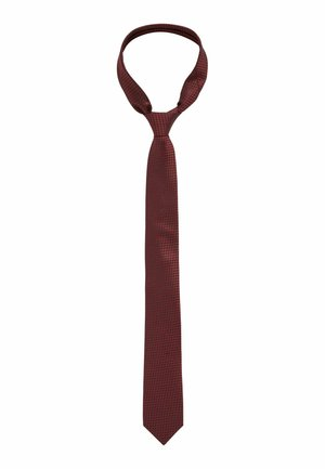 Tie - dark red