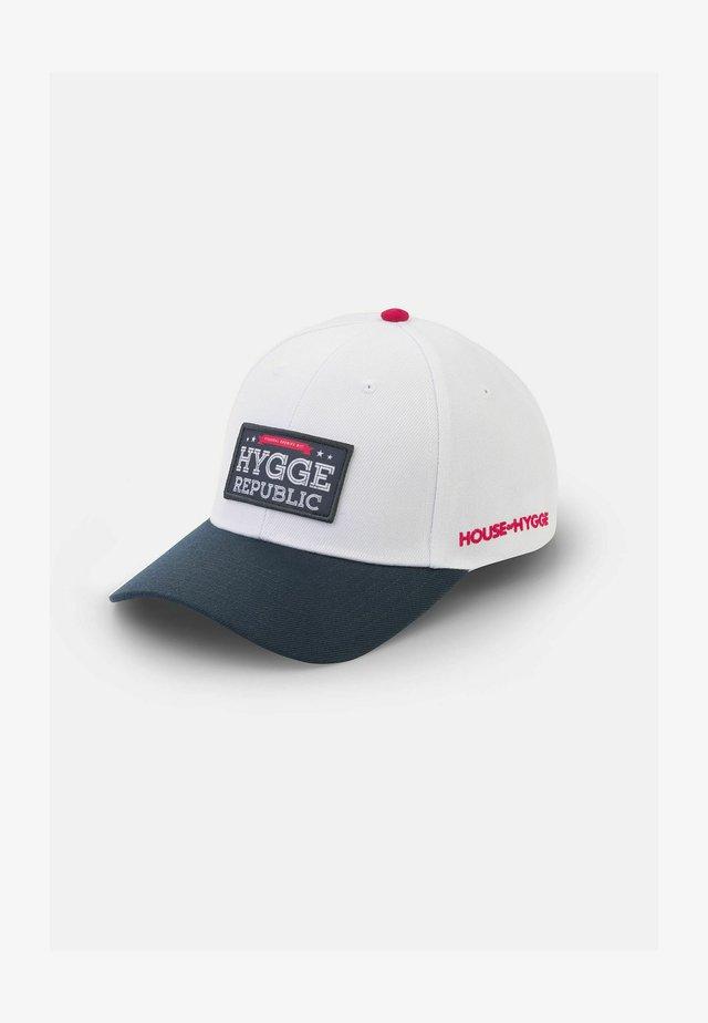 HYGGE REPUBLIC - Cap - Hvit og Blå