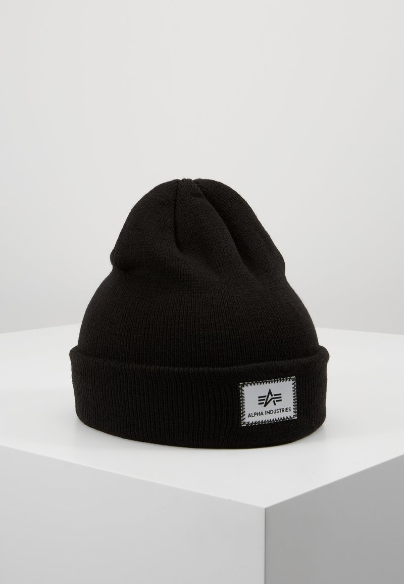 Alpha Industries - X-FIT BEANIE UNISEX - Mössa - black