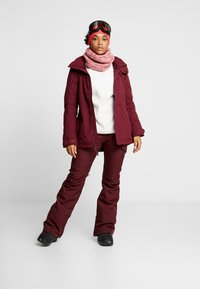 Burton - JET SET - Snowboardová bunda - sangria - 1
