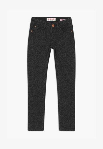 AMIA ANIMAL - Jeans Skinny Fit - black