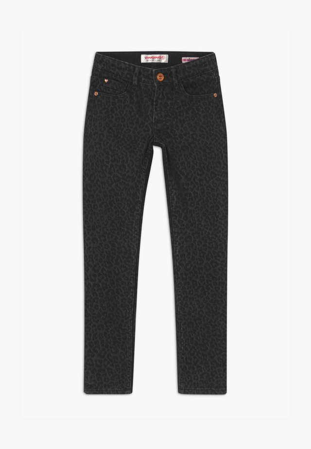 AMIA ANIMAL - Jeans Skinny Fit - black