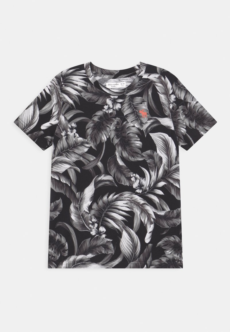 Abercrombie & Fitch - Print T-shirt - black