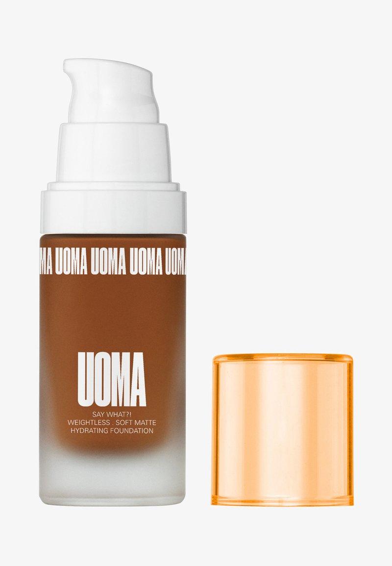 UOMA - SAY WHAT?! FOUNDATION - Fondotinta - t4c brown sugar
