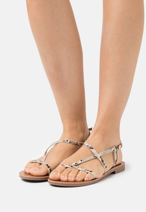 ONLMELLY STRING  - Sandály s odděleným palcem - beige