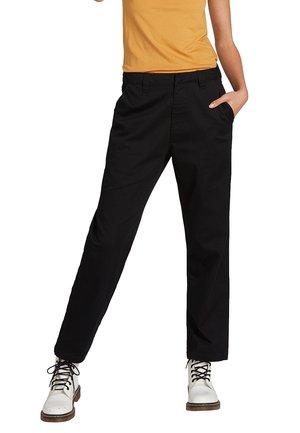 FROCHICKIE BOYFRIEND - Trousers - black