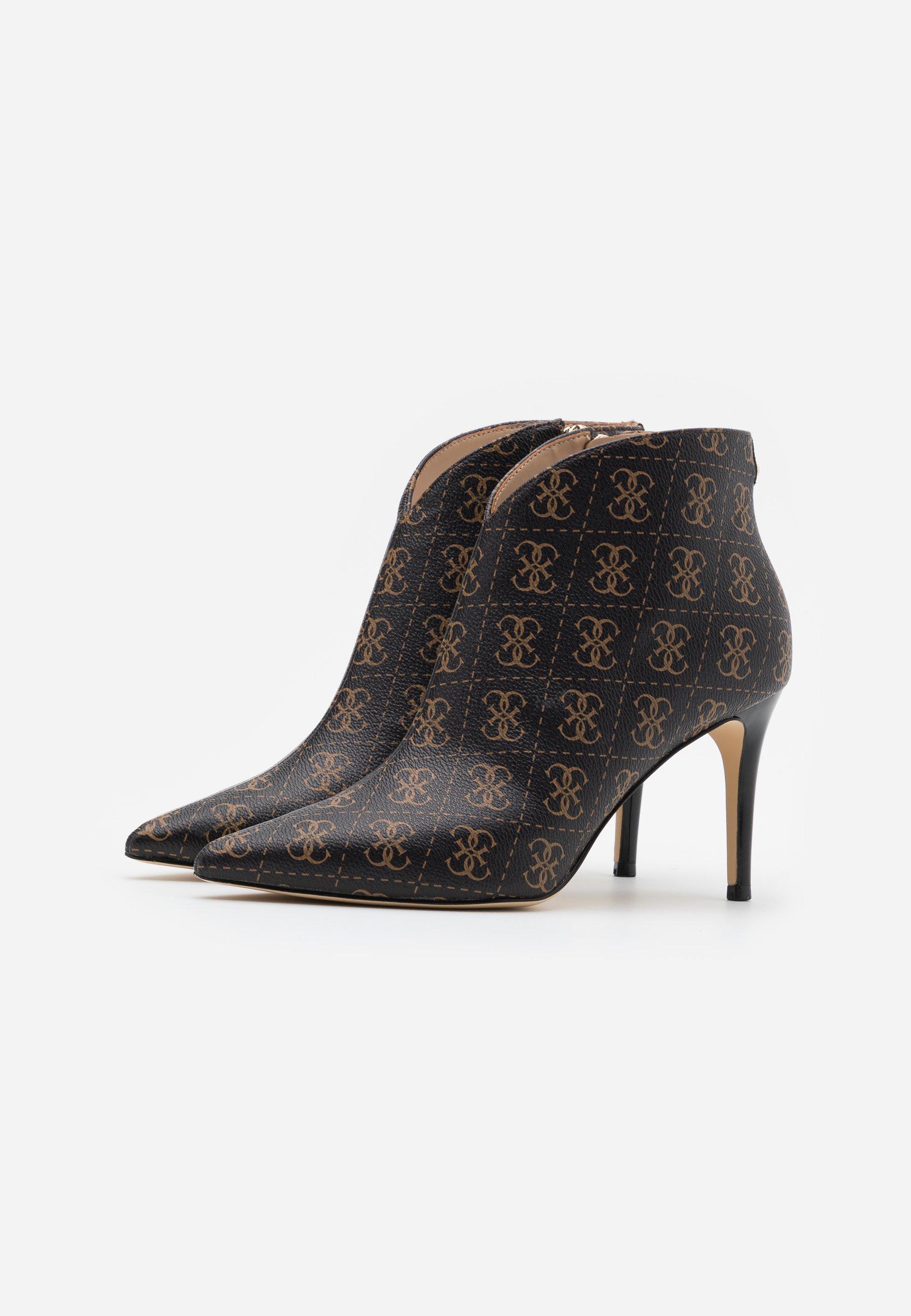 Guess BRISTA High Heel Stiefelette brown/ocra/braun