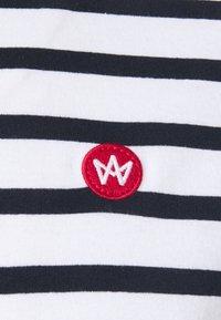 Kronstadt - Navey - T-shirt print - navy white - 2