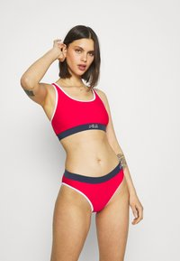 Fila - YAKIMA SET - Bikini - true red/black iris/bright white - 1
