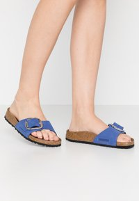 Birkenstock - MADRID - Slippers - azure blue - 0