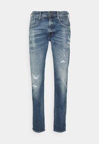 Replay - ANBASS AGED - Straight leg jeans - blue denim - 5