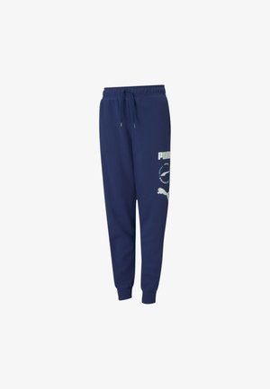 ALPHA  - Tracksuit bottoms - elektro blue