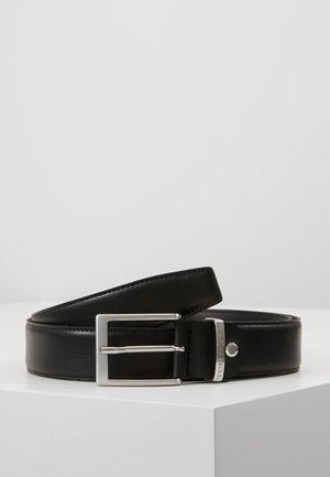 BELTS SCHMALER LEDER-GÜRTEL - Belt - black