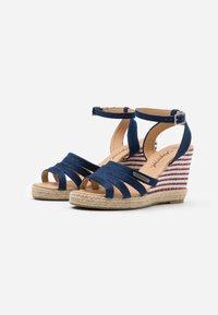 Kaporal - MONTY - High heeled sandals - marine - 2