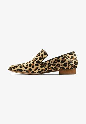 PURE VIOLA - Mocassins - leopard print