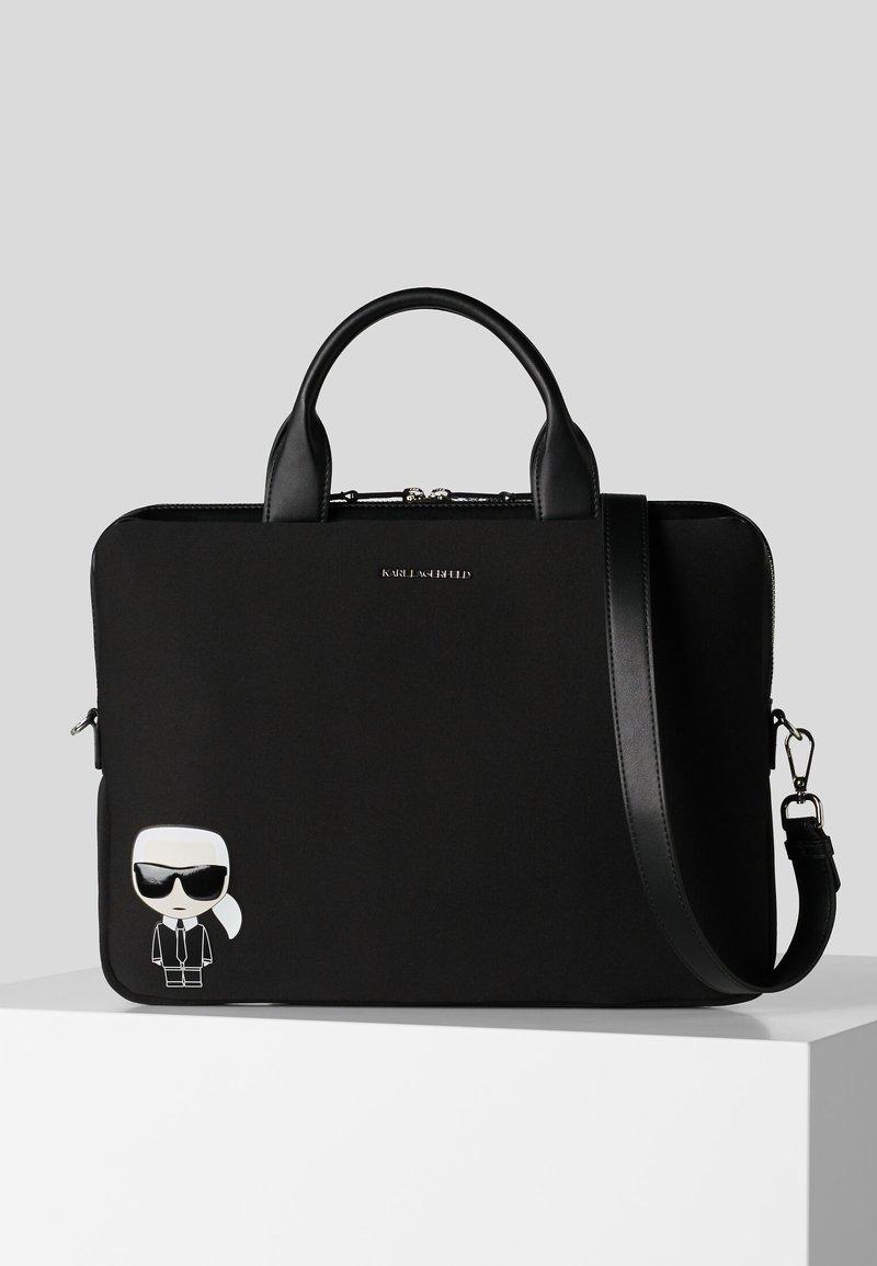 KARL LAGERFELD - Briefcase - black