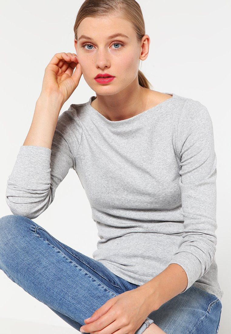 GAP - BOAT - Long sleeved top - heather grey