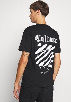 CULTURE TEE - Print T-shirt - black