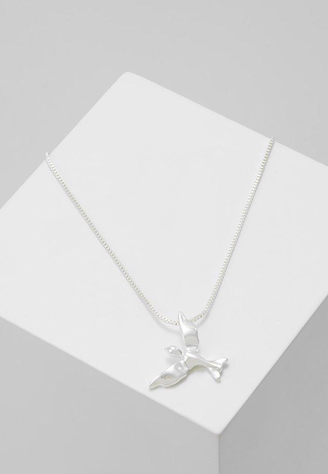 NECKLACE AIR - Collana - silver-coloured