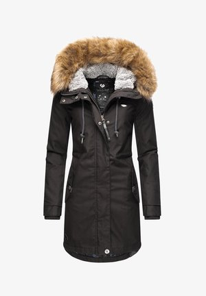 TAWNY - Winter coat - schwarz
