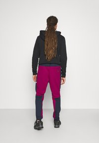 adidas Performance - SPORTSWEAR AEROREADY PANTS - Jogginghose - legend ink/power berry - 2