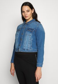 CAPSULE by Simply Be - WESTERN JACKET - Denim jacket - blue - 3